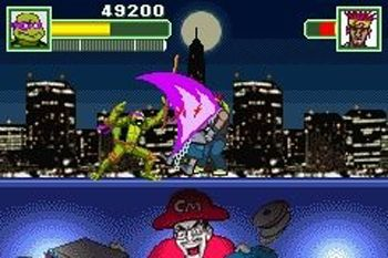 TMNT Battle Nexus - Symbian game screenshots. Gameplay TMNT Battle Nexus.