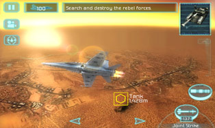 Tom Clancy's H.A.W.X HD download free Symbian game. Daily updates with the best sis games.