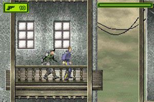 Tom Clancy: Las astillas : capturas de pantalla del juego para Symbian. Jugabilidad Tom Clancy's Splinter Cell.