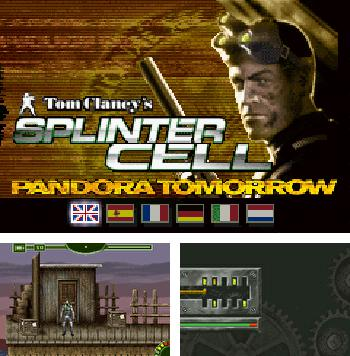 Zusätzlich zum sis-Spiel Schneide das Seil für Symbian-Telefone können Sie auch kostenlos Tom Clancy´s Splitter-Zellen: Morgen Pandora, Tom Clancy's Splinter Cell: Pandora Tomorrow herunterladen.