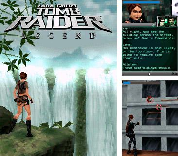 In addition to the sis game Dragon quest monsters: Caravan Heart for Symbian phones, you can also download Tomb raider legend for free.