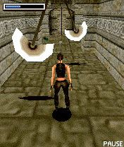 Tomb Raider Underworld 3D - Symbian game screenshots. Gameplay Tomb Raider Underworld 3D.