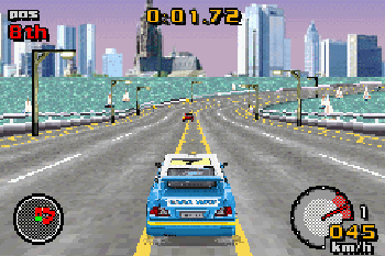 Top gear: Rally - Symbian-Spiel Screenshots. Spielszene Top gear: Rally.