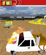 Top Gear 2 - Symbian-Spiel Screenshots. Spielszene Top gear 2.