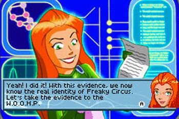 Super Spioninnen! - Symbian-Spiel Screenshots. Spielszene Totally Spies!.