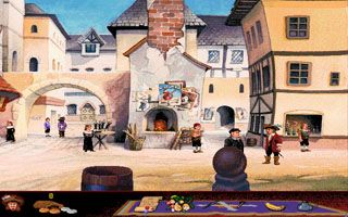 Die Abenteuer der 5 Musketiere - Symbian-Spiel Screenshots. Spielszene Touche: The Adventures of the Fifth Musketeer.