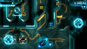 Tron: Tanks - Écrans du jeu Symbian. Gameplay Tron Tanks.