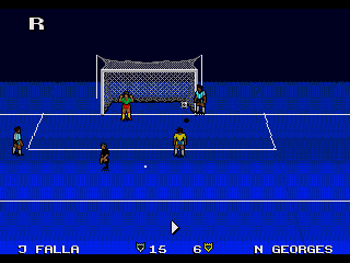Ultimate soccer - Symbian game screenshots. Gameplay Ultimate soccer.