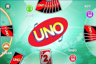 Uno HD - Symbian game screenshots. Gameplay Uno HD.