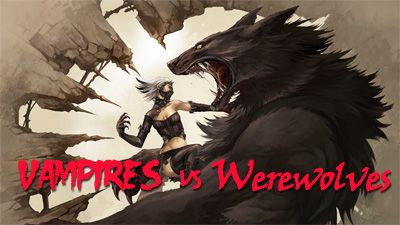 Vampires vs Werewolves - Symbian game  Vampires vs