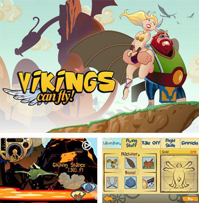In addition to the sis game Road rash for Symbian phones, you can also download Vikings Can Fly! for free.