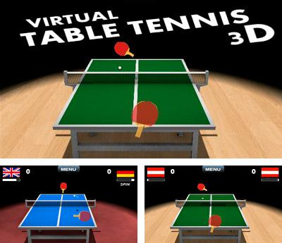 In addition to the sis game Ball rush aqua for Symbian phones, you can also download Virtual table tennis 3D for free.