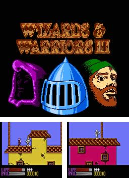 In addition to the sis game Double dribble: The playoff edition for Symbian phones, you can also download Wizards and Warriors 3 for free.