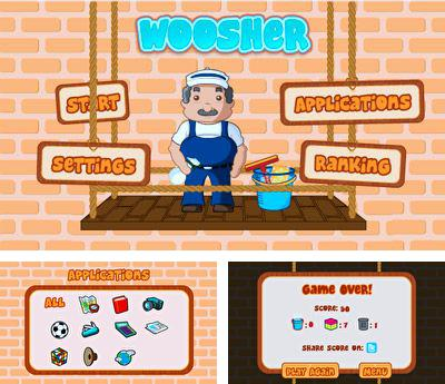 In addition to the sis game Speedtap50 for Symbian phones, you can also download Woosher for free.