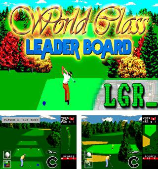 World class leader board golf