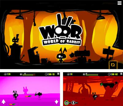 In addition to the sis game Gauntlet for Symbian phones, you can also download World Of Rabbit for free.