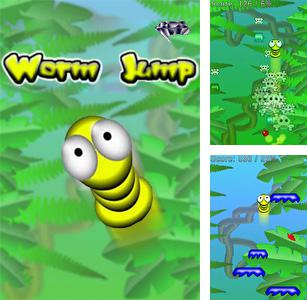 In addition to the sis game BLAZ3D for Symbian phones, you can also download Worm Jump for free.
