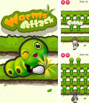 In addition to the sis game Pro Evolution Soccer 2011 for Symbian phones, you can also download Worms Attack for free.