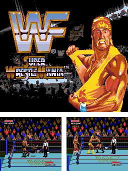 In addition to the sis game Sky force for Symbian phones, you can also download WWF Super wrestlemania for free.