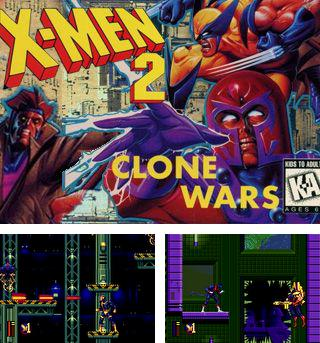 In addition to the sis game Bomboo car for Symbian phones, you can also download X-Men 2: Clone wars for free.