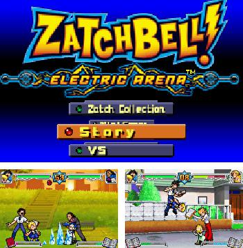 In addition to the sis game Road rash 3 for Symbian phones, you can also download ZatchBell! Electric Arena for free.
