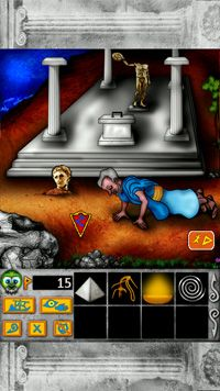 King's Quest - Symbian game screenshots. Gameplay King's Quest.