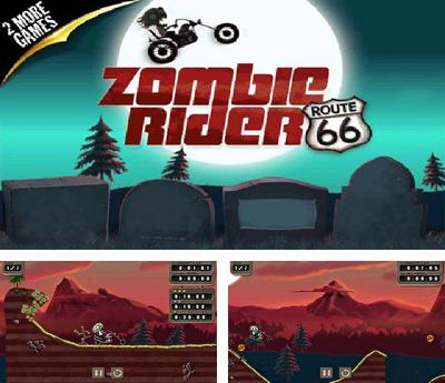 In addition to the sis game Global Race: Raging Thunder for Symbian phones, you can also download Zombie Rider for free.