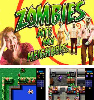In addition to the sis game Egg mania for Symbian phones, you can also download Zombies ate my neighbors for free.