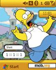 Download mobile theme Homer Jay