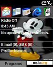 Download mobile theme MickeyMouse