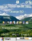 Download mobile theme Mighty mountains