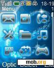 Download mobile theme Blue Flash Icons