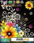 Download mobile theme Fantasy Flowers