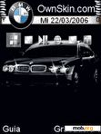 Download mobile theme Bmw animated