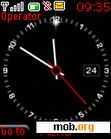 Download mobile theme animated clock