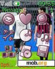 Download mobile theme Roanldinho,ronaldo,kaka,torres
