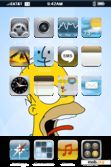 Download mobile theme Homer