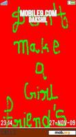 Download mobile theme DON'T MAKE A GIRL FRIEND's