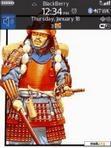 Download mobile theme Japan Nippon Samurai Warrior1