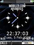 Download mobile theme Silver Clock