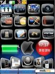 Download mobile theme Iphone clock
