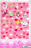 Download mobile theme cartoons and hearts