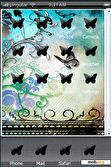 Download mobile theme butterflies