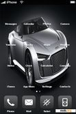 Download mobile theme SILVER AUDI