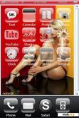 Download mobile theme Sexy blonde