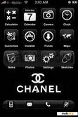 Download mobile theme Black and White Chanel