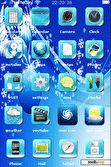 Download mobile theme blue