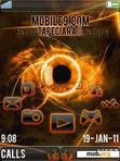 Download mobile theme Sony_Fire