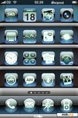 Download mobile theme Aqua Flivor