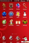Download mobile theme Christmas Theme